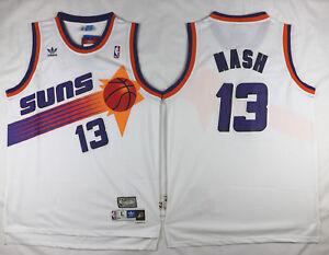 sneakers for cheap dfab4 d8486 Details about Steve Nash #13 Phoenix Suns Men's White Hardwood Classics  Throwback Jersey