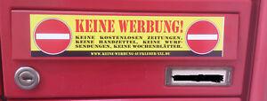 Grosser-034-Keine-Werbung-034-Aufkleber-XXL