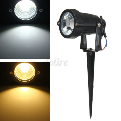 6W Garden Spotlight COB LED Outdoor Lights Path Yard Lawn Landscape Lamp Xmas