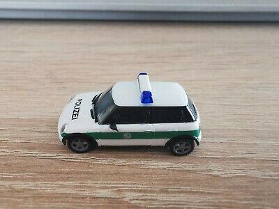 1//87 Herpa Mini Cooper policía munich 045735