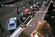 Ford GT40 in the Pits Le Mans 1966 Photograph