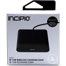 big sale d5024 66e9d Incipio Ghost Qi 15w Wireless Charging Base Pad Black
