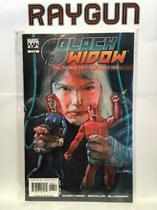 Black-Widow-The-Things-They-Say-About-Her-4-VF-NM-1st-Print-Marvel-Comics