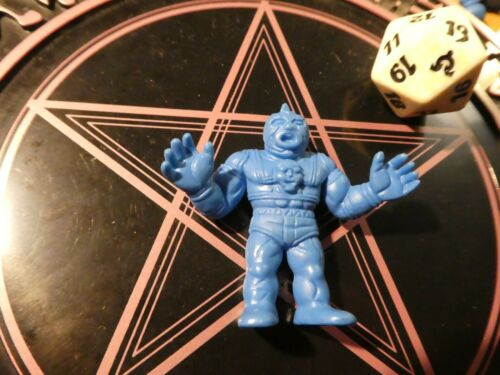 KINNIKUMAN MUSCLE MEN KINKESHI BLUE PVC JAPANESE FIGURE//FIGURINE JAPAN ** #014