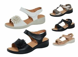 Womens Wide Fitting Comfort Sandals