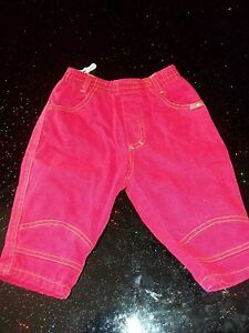 Tolle-rote-Babyjeans-Gr-74-Unisex