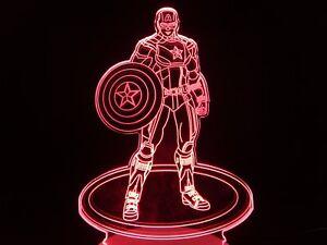 3D-Bulbing-Light-Glow-Optical-Illusion-Versatile-LED-Lamp-American-Captain