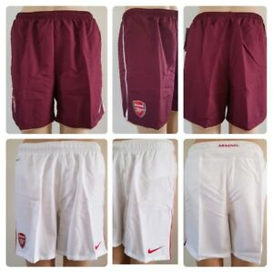 Garcons-039-New-nike-officiel-ARSENAL-Football-Shorts-Age-6-To-15-Dri-Fit-sous-licence