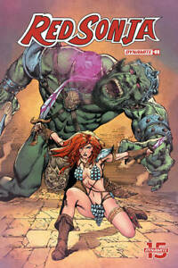 Vault35 Red Sonja #9 Cover E NM 2019 Dynamite