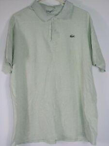 c2ca3338 Vtg 8os 90s chemise lacoste short sleeve polo shirt terrace wear | eBay