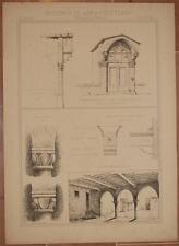 RICORDI DI ARCHITETTURA TABERNACOLO PONTE A GREVE FIRENZE PALLANZA VERBANIA