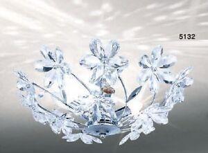 Plafoniera Fiori : Lampada plafoniera lampadario stile moderno decorazione fiori nuovo