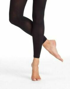 eee07e4f7d95f Capezio 1806 Women's Size Long Large Black Ultra Shimmery Footless ...