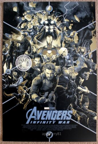 SDCC 2018 Marvel Avengers Infinity War variant by Matt Taylor signed /& numbered
