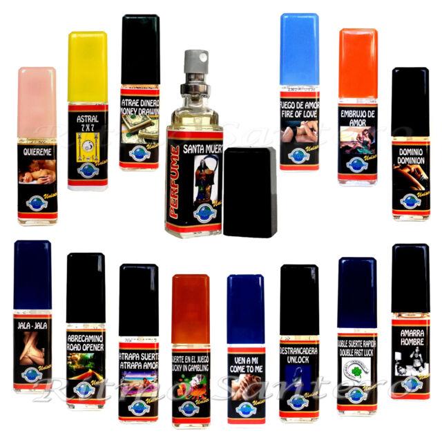 Spiritual Perfume Spray 0.5oz UNISEX Wicca Spell Ritual Santeria Protección Aura