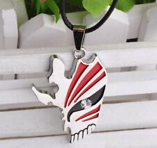 Bleach Ichigo Kurosaki Bankai Hollow Half Mask Semi-face Pendant Necklace