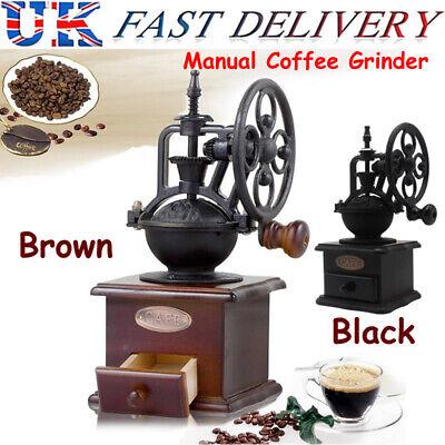 Vintage Retro Manual Coffee Grinder Wheel Design Coffee ...