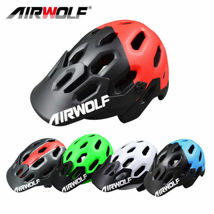 Newest Airwolf road mtb cycling bike bicycle helmet 58-62mm colorfully