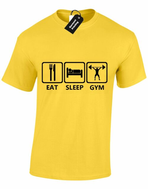 XXL,3XL XL M L Eat Sleep Cricket Mens T Shirt Funny Present Gift S