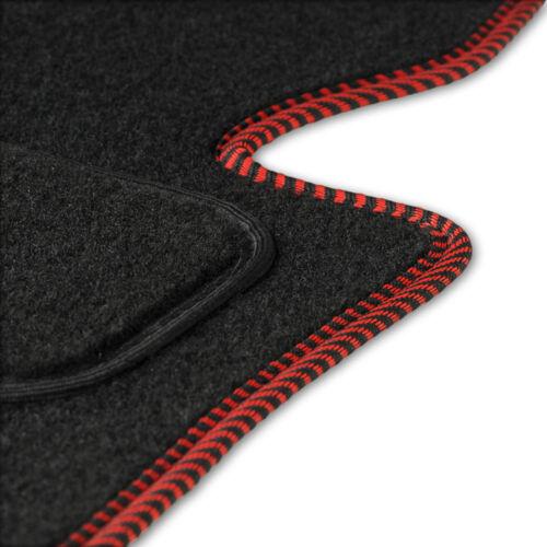 Fußmatten Auto Autoteppich passend für Mitsubishi Colt 3 Türen 2005-09 CACZA0401