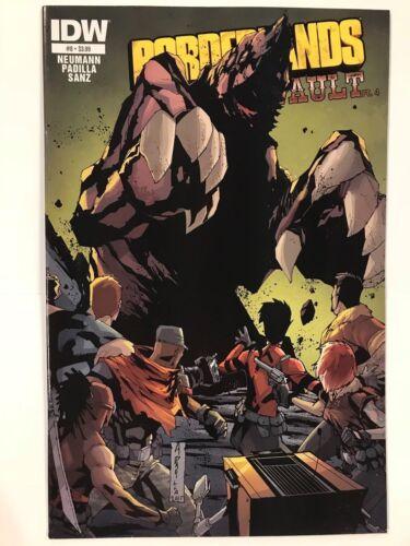 Borderlands #8 Tannis /& the Vault CVR A IDW Comic 1st Print 2015 NM