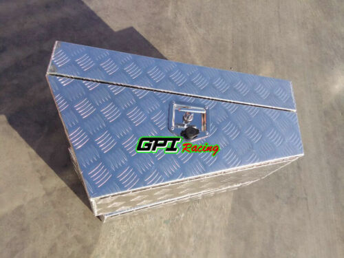 "30/"" ALUMINIUM PAIR 4X4 TOOLBOX UNDER BODY 750mm TOOL BOX UNDER TRAY 4WD MRT2S"