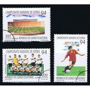 94 Überlastung Der Probe Äquatorial-guinea Edifil 186/188 Fußball Football Welt Briefmarken Afrika