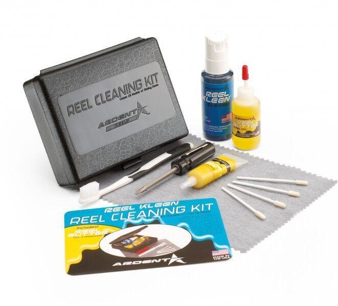 Ardent Reel Cleaning Kit Süsswasser Rollenpflege Set, Pflegeset für Angelrollen  | Lebendige Form