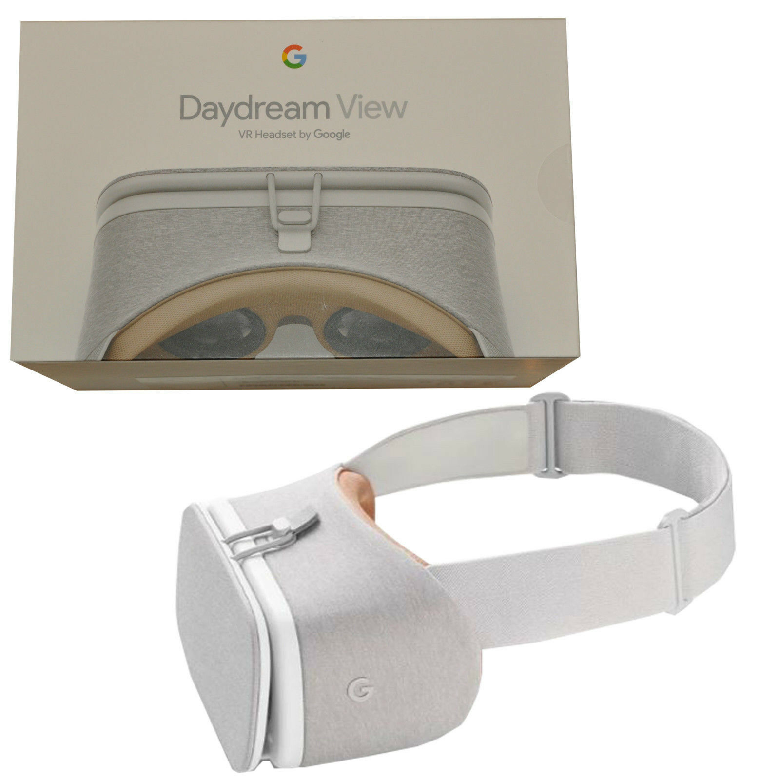 Google Daydream View VR Headset Snow Compatible With LG V30 Samsung Galaxy S8