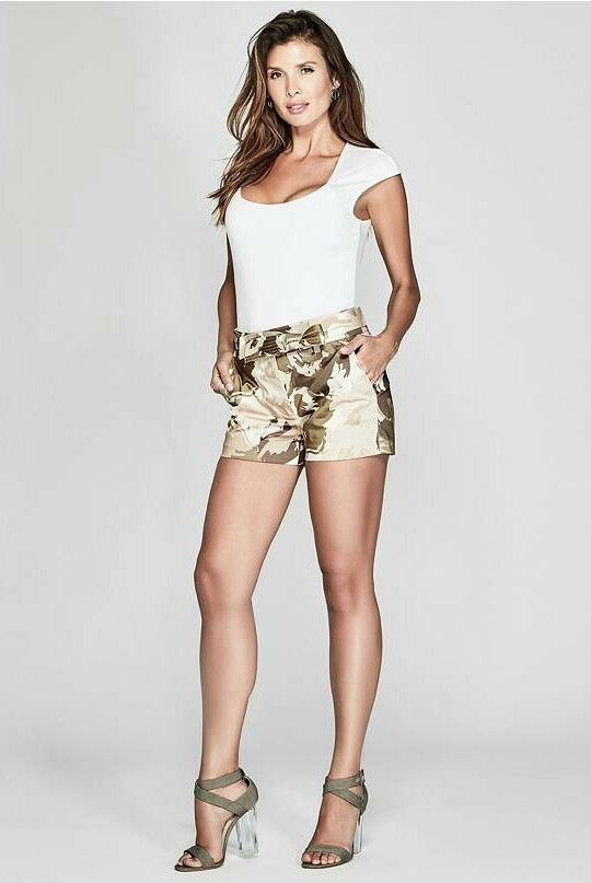 GUESS BY MARCIANO CAMO FLORAL SHORTS