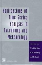 Applications of Time Series Analysis in Astronomy and Meteorology-ExLibrary