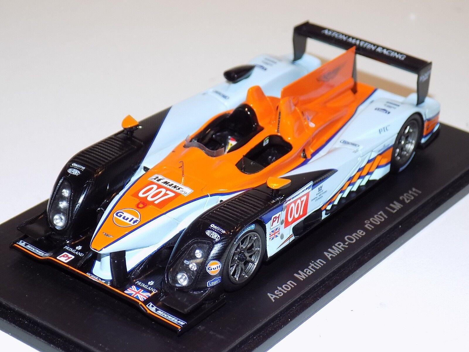 1/43 Spark Aston Martin Amr uno coche 007 2018 24 horas de Le Mans S2536