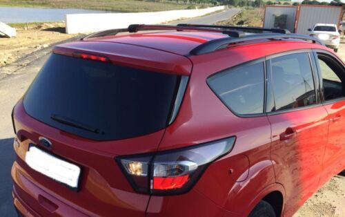 Dachträger aus Aluminium Passend für Nissan Navara 2015 Querträger Schwarz