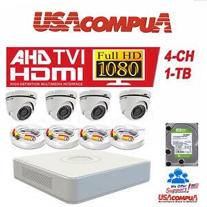 Hikvision-kit-2MP-4CH-TVI-2-8MM-1TB-Hard-disk-Dome-Camera-1080p