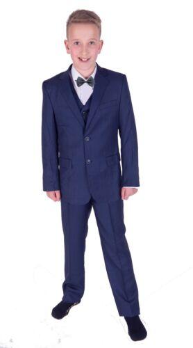 garçons bleu pour 5 pièces costume de mariage PAGE garçon nœud papillon 2 à