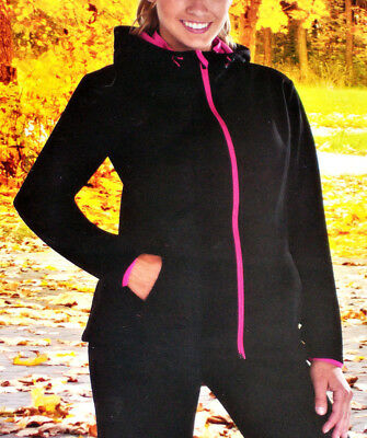 Crivit Pro Damen Softshell Jacke Laufjacke Schwarz S 36//38