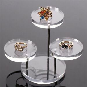 Acrylic-Clear-Jewelry-Earring-Necklace-Display-Shelf-3-Layer-Stand-Organizer