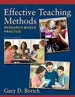 Effective Teaching Methods: Research-Based Practice by Gary D. Borich (Paperback, 2013)
