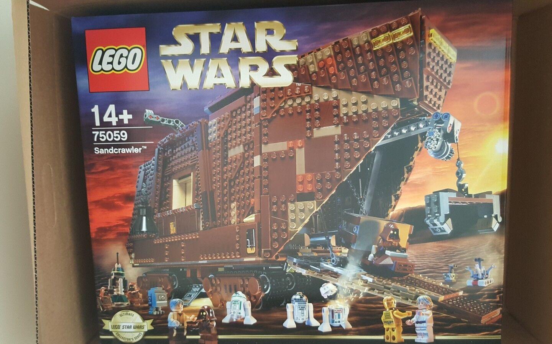Retirot Lego Star Wars Sandcrawler 75059