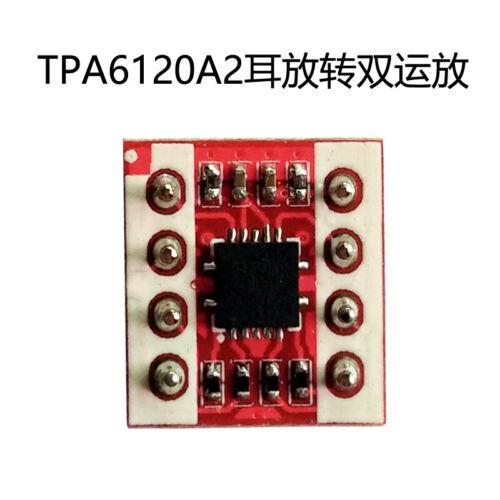 TPA6120A2 OP Amp High Fidelity Casque stéréo Amplificateur Chip DWP fièvre À faire soi-même