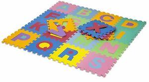 HemingWeigh Kid's Multicolored Alphabet Puzzle Play Mat26 tiles