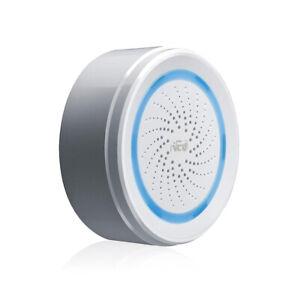 Siren Alarm Sensor WIFI Siren Alert Home Security App Remote Siren