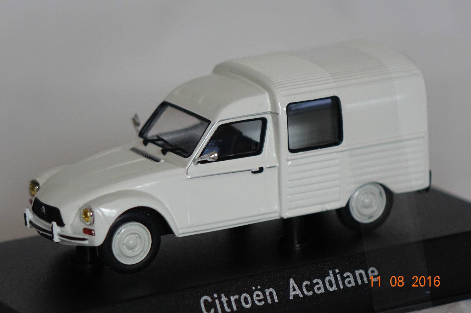 Citroen acadiane 1979 wei ß 1 43 norev neu + ovp 153766