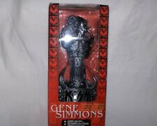 KISS - Gene Simmons Statue Demon, silber/schwarz,ca. 18cm  -Neu,OVP,RARITÄT