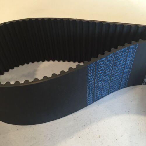 7.4 Length 1 Width D/&D PowerDrive 74XL100 Timing Belt