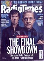Radio Times Magazine Jan 14 2017 Benedict Cumberbatch Martin Freeman Sherlock