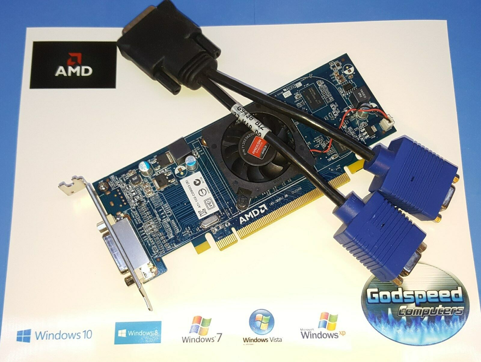HP Pavilion s5380t s5412p s5414y s5501f HD SFF Dual Display VGA Video Card