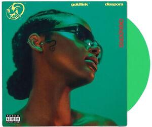 GoldLink-Diaspora-Green-Colored-Double-2x-LP-Vinyl-Record-Khalid-Pusha-T-2000