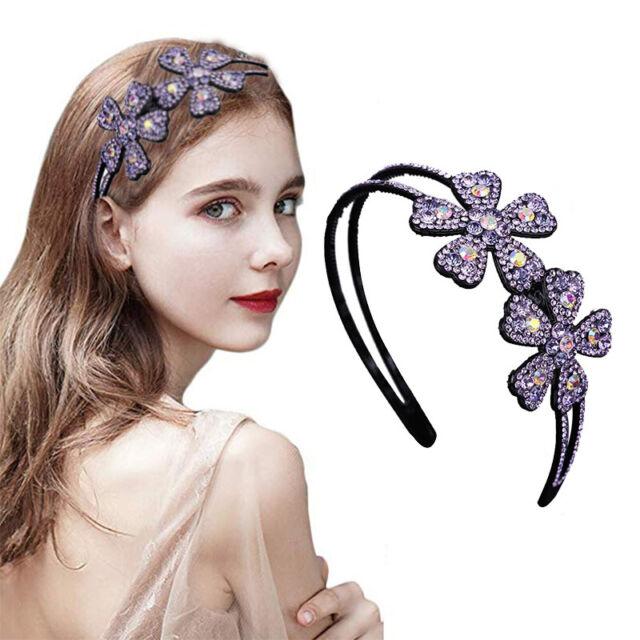 Cute Kids Flower Bowknot Women Girls Headband Hairband Hair Band Hoop Headdress