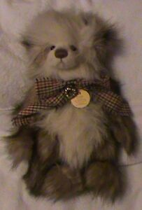 Whoopsie Daisy Nice Charlie Bear To Be Renowned Both At Home And Abroad For Exquisite Workmanship Cb124901 h Skillful Knitting And Elegant Design Excellent Condition With Tag